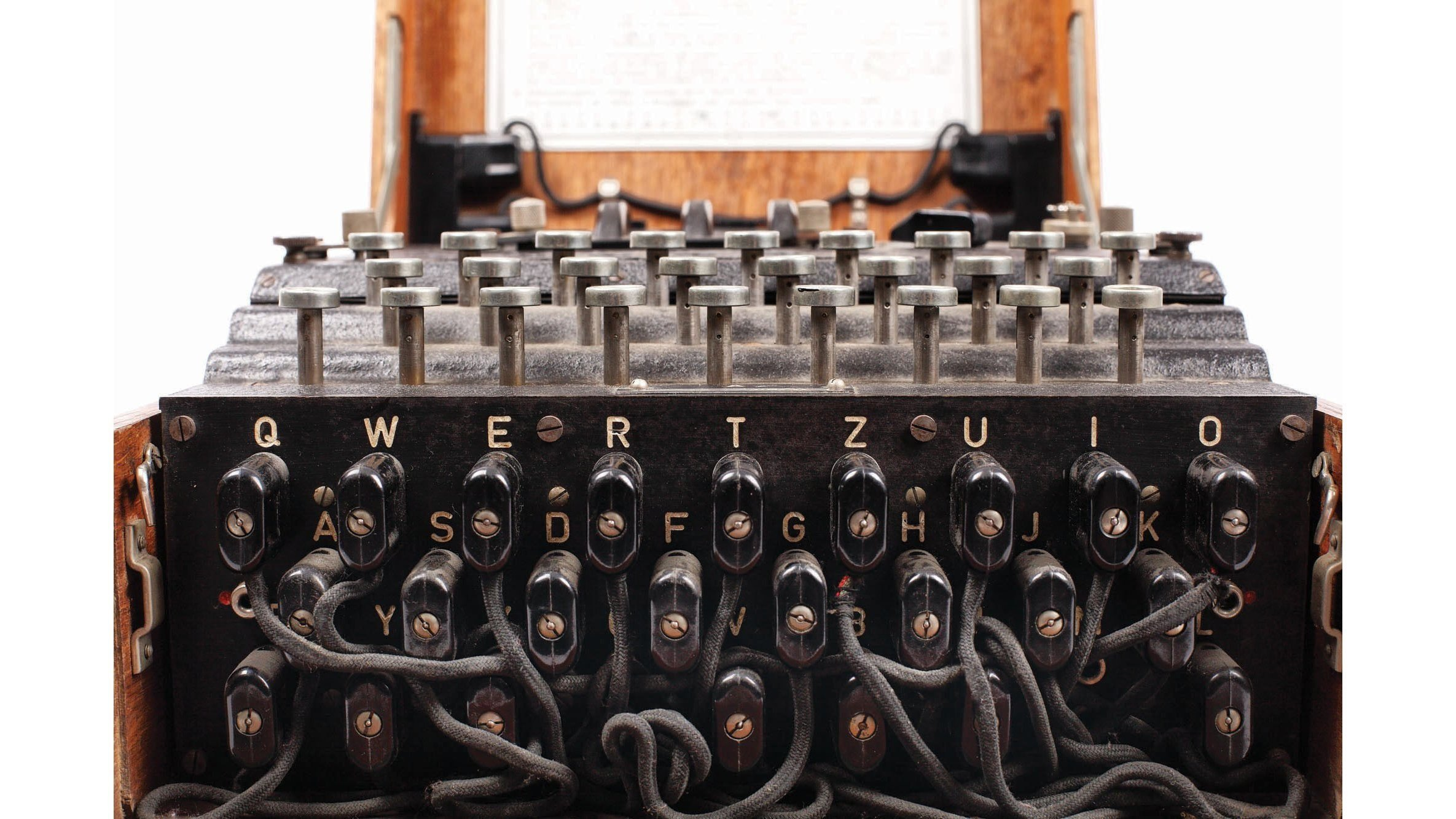 Bought for €100, World War Two Enigma machine sells for €45000