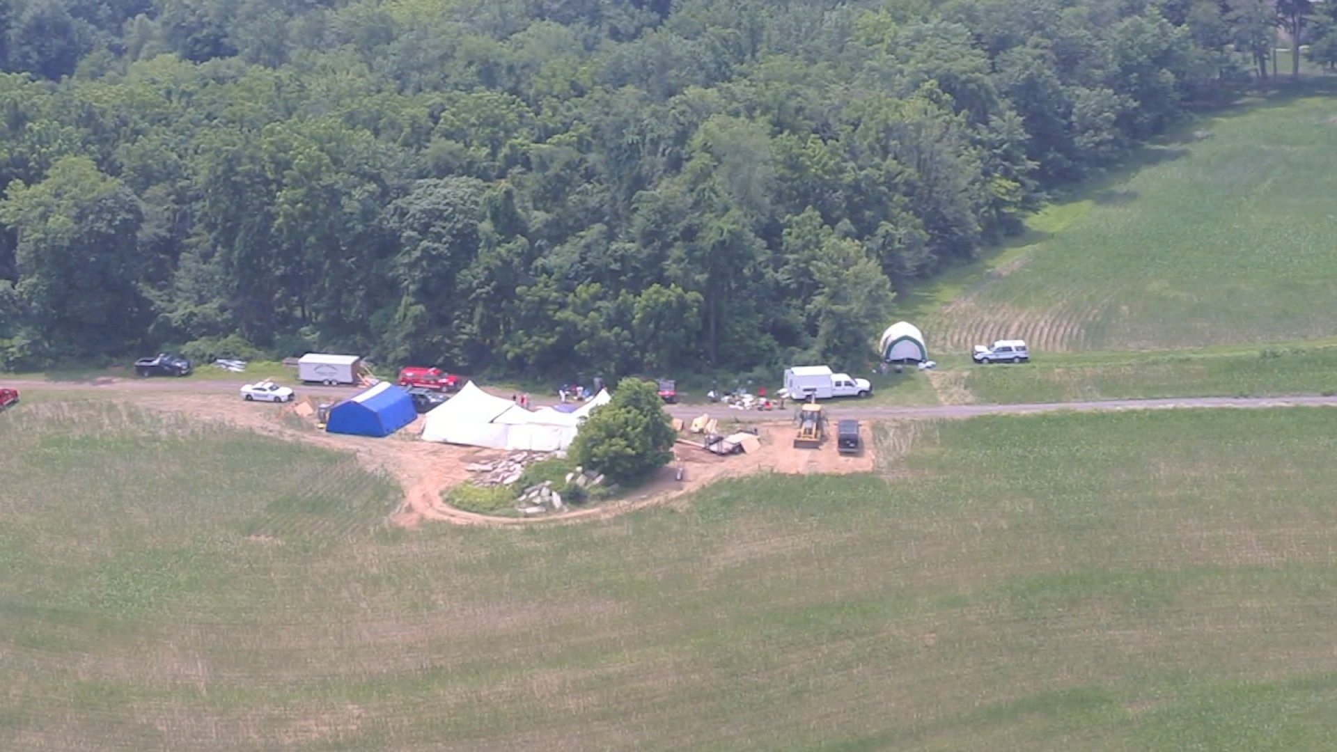 Investigators are painstakingly excavating the 12.5-foot-deep grave where the body of one of four missing men and other human remains were found, Bucks County District Attorney Matthew Weintraub said Thursday.