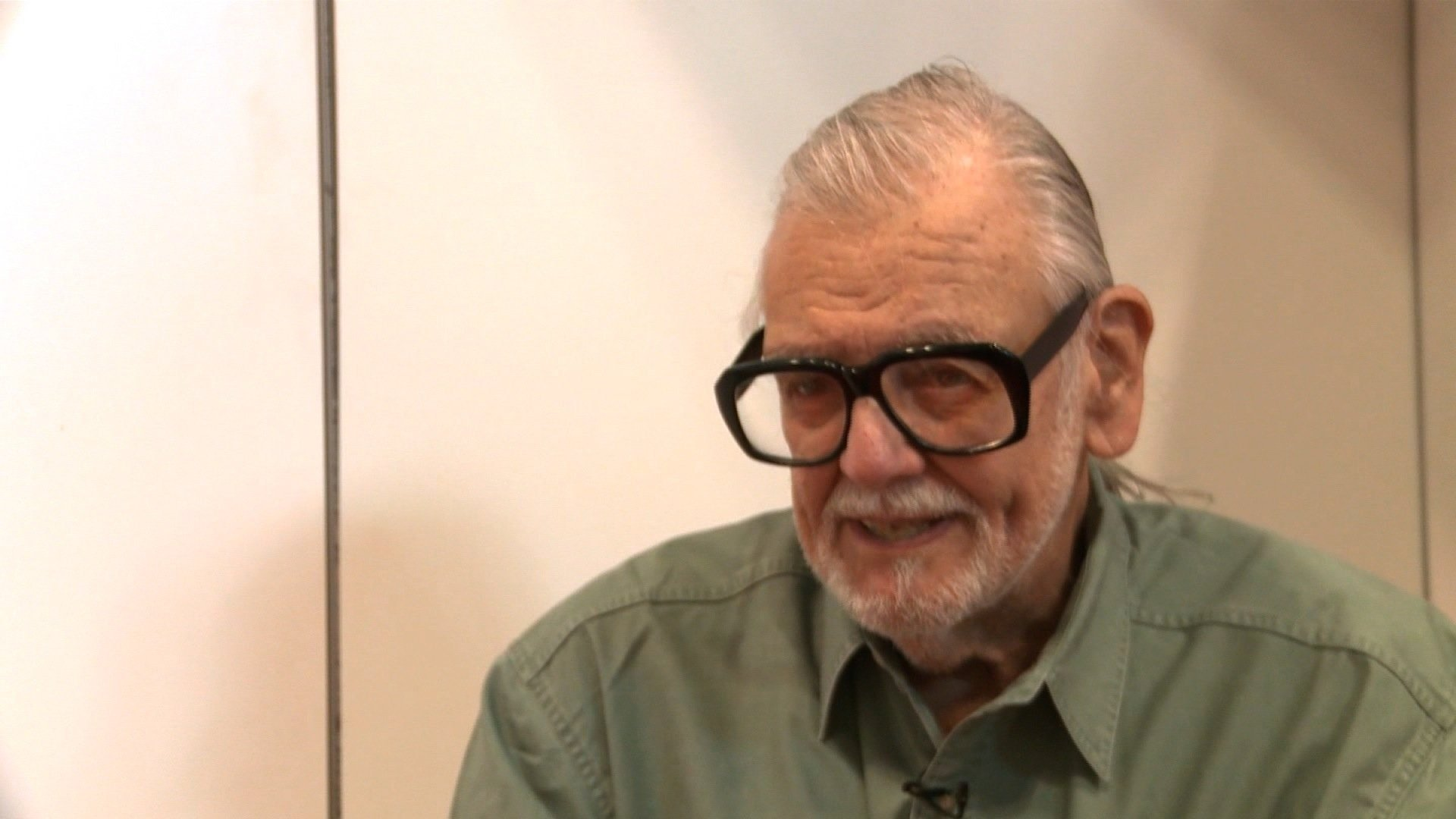 """File photo of George A. Romero, writer and director behind the cult-classic horror flick """"Night of the Living Dead."""""""