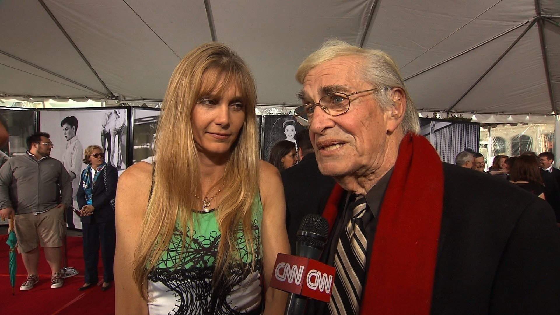 File photo: Martin Landau speaks to CNN at the 2010 TCM Classic Film Festival.