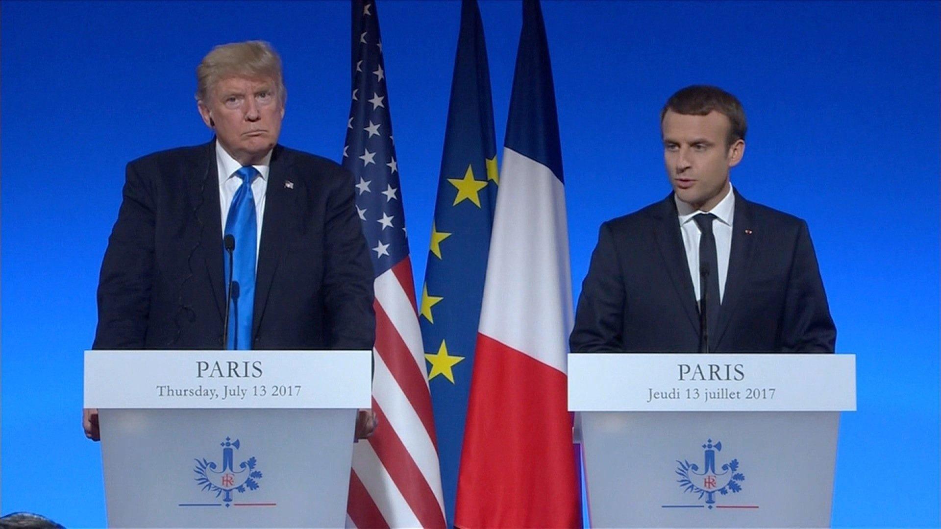 France's Macron urges resumption of Mideast peace talks