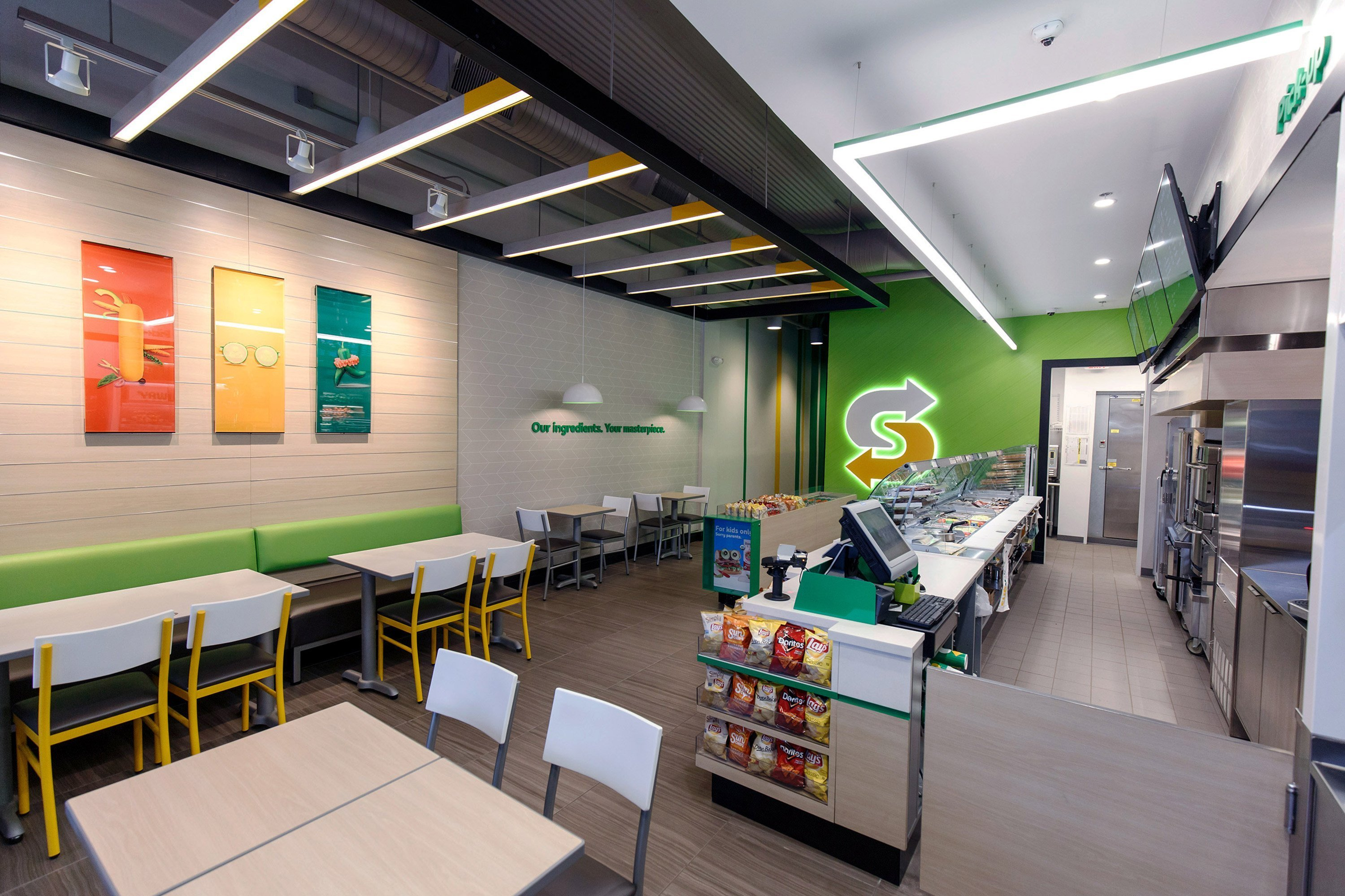 Subway restaurants, which boasts more than 40,000 locations globally, is rolling out a new look for its stores, the company announced Monday, July 17, 2017.
