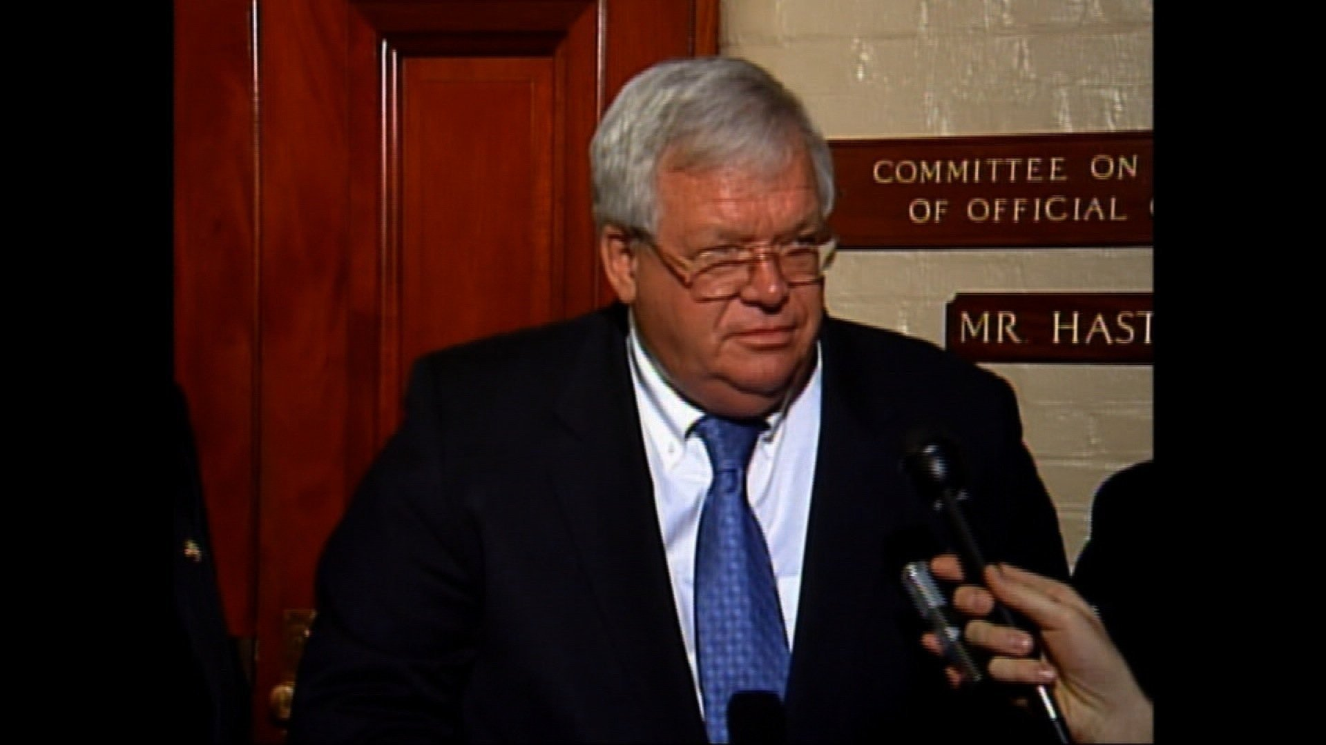 Hastert Released from Prison After 13 Months