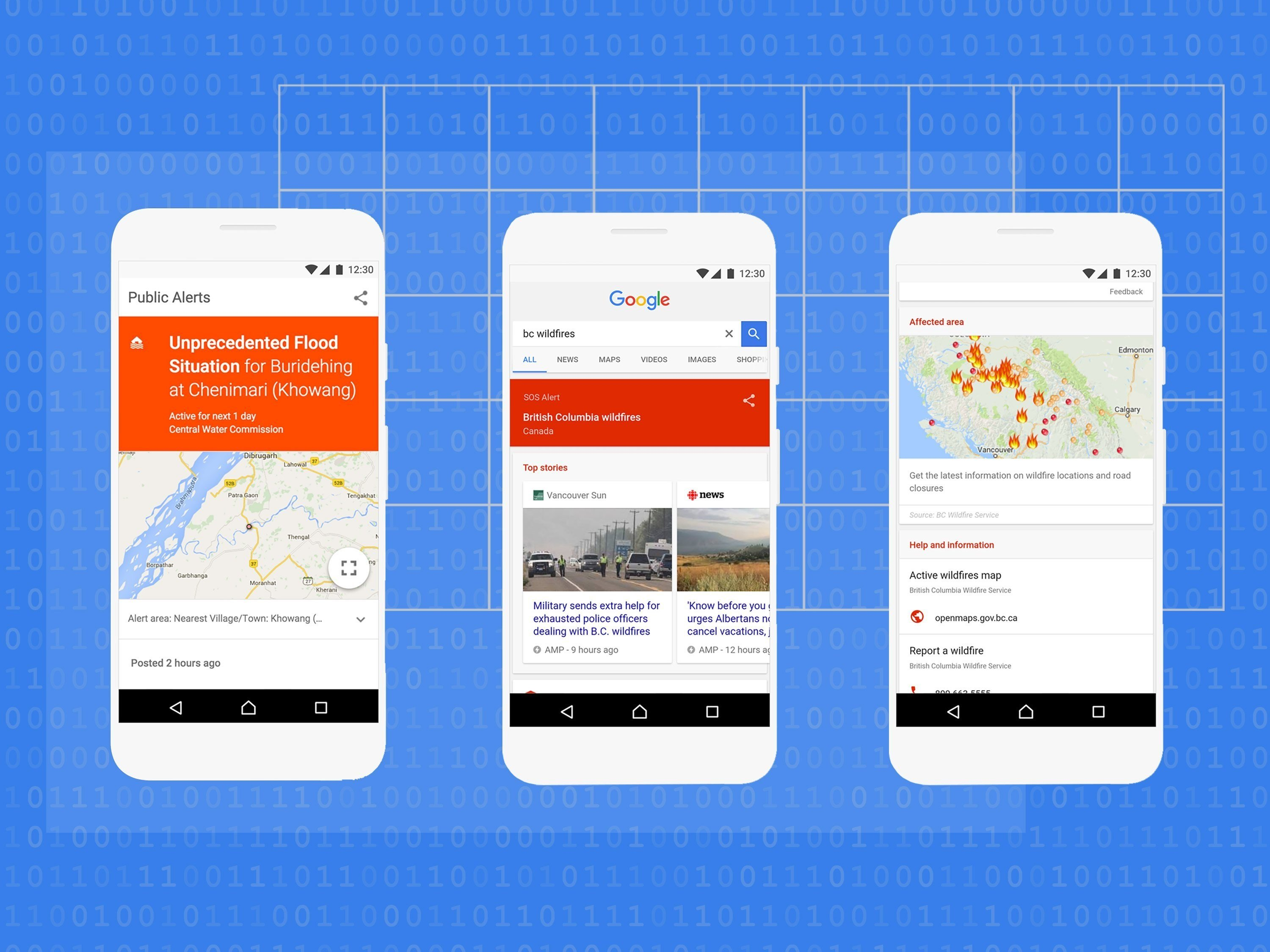 Google adds SOS alerts and disaster info to search results and Maps