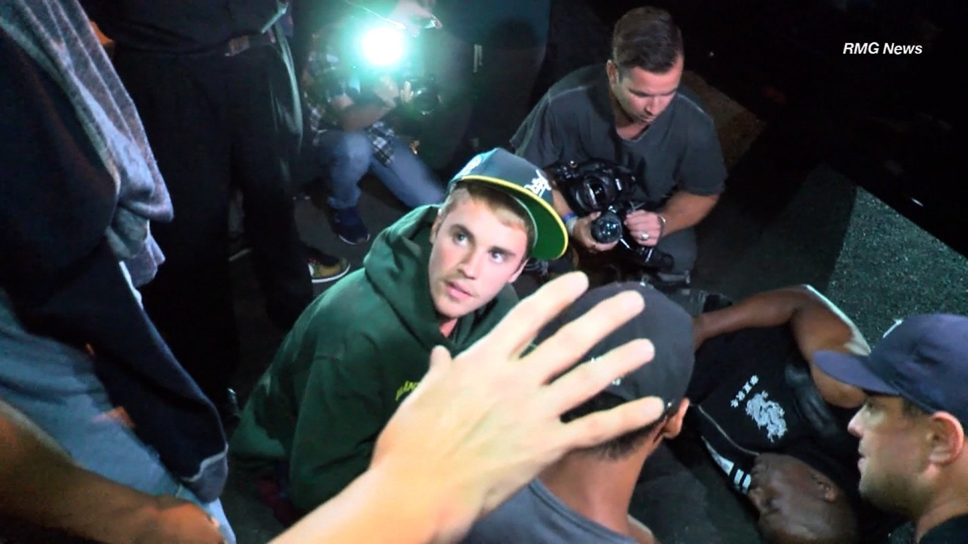 Justin Bieber involved in collision with photographer