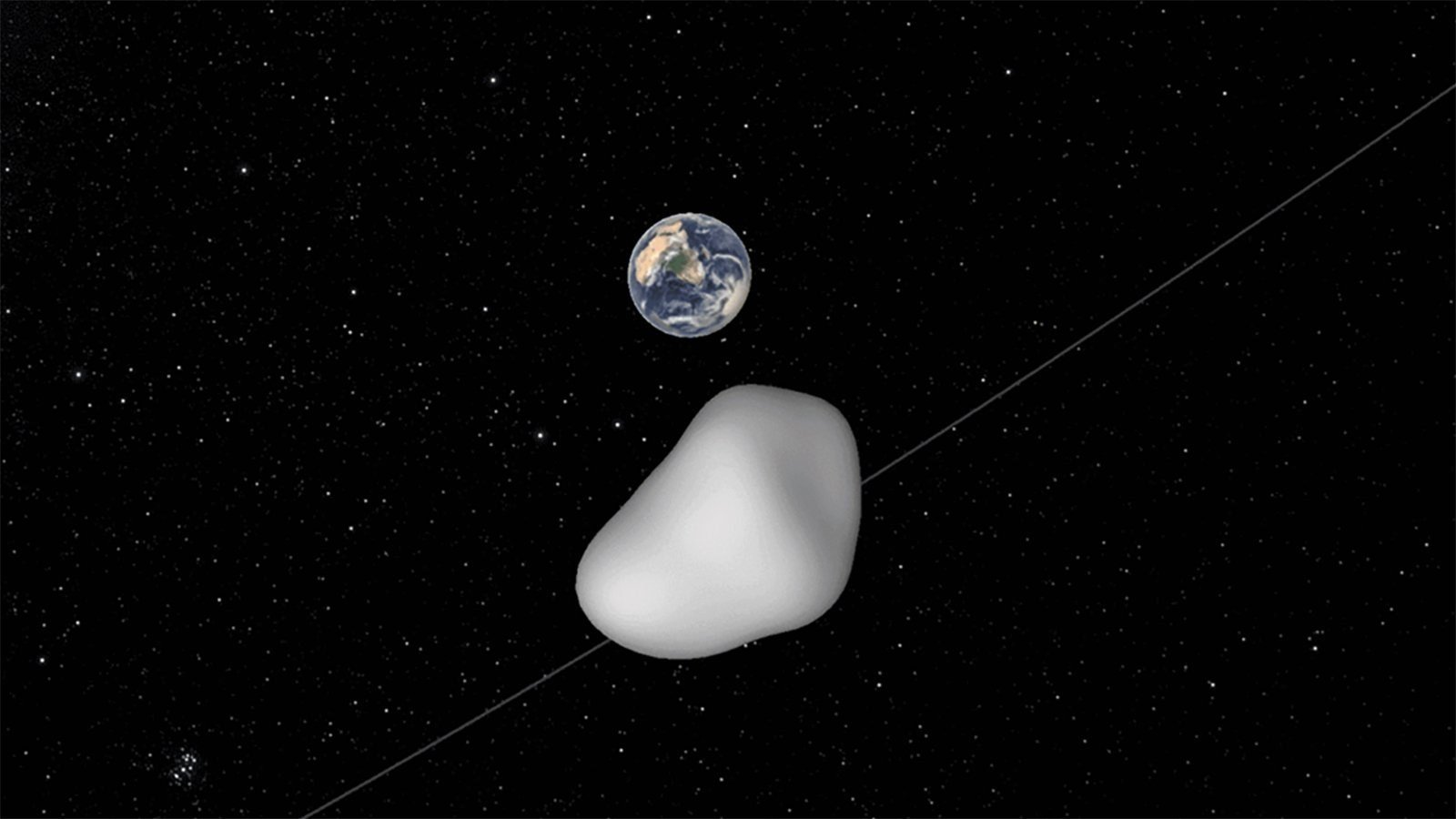 Asteroid may pass Earth by just 6880km in October