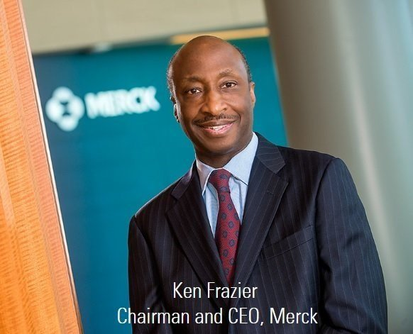 Merck CEO Kenneth Frazier quit President Trump's manufacturing council on Monday