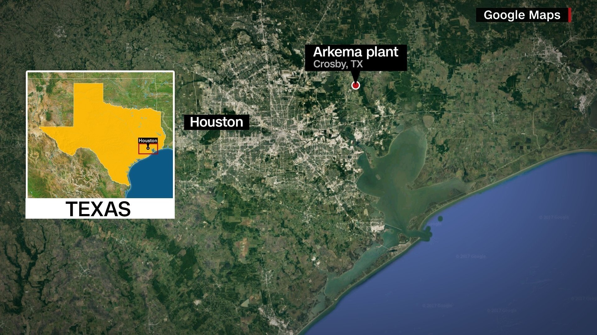 Risk of chemical plant explosion near Houston prompts evacuation after Harvey