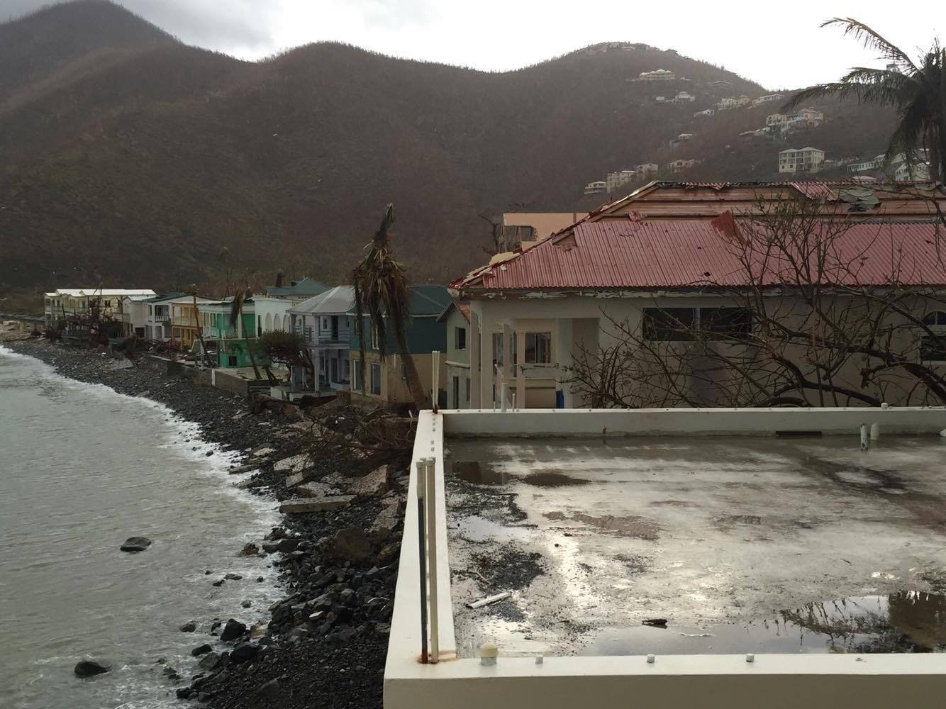 Shorelines drained in eerie effect of Hurricane Irma