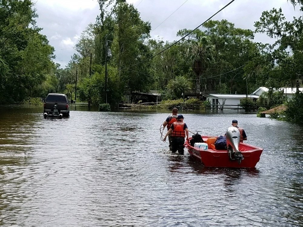 Record flooding in Jacksonville as Georgia braces for epic storm surge