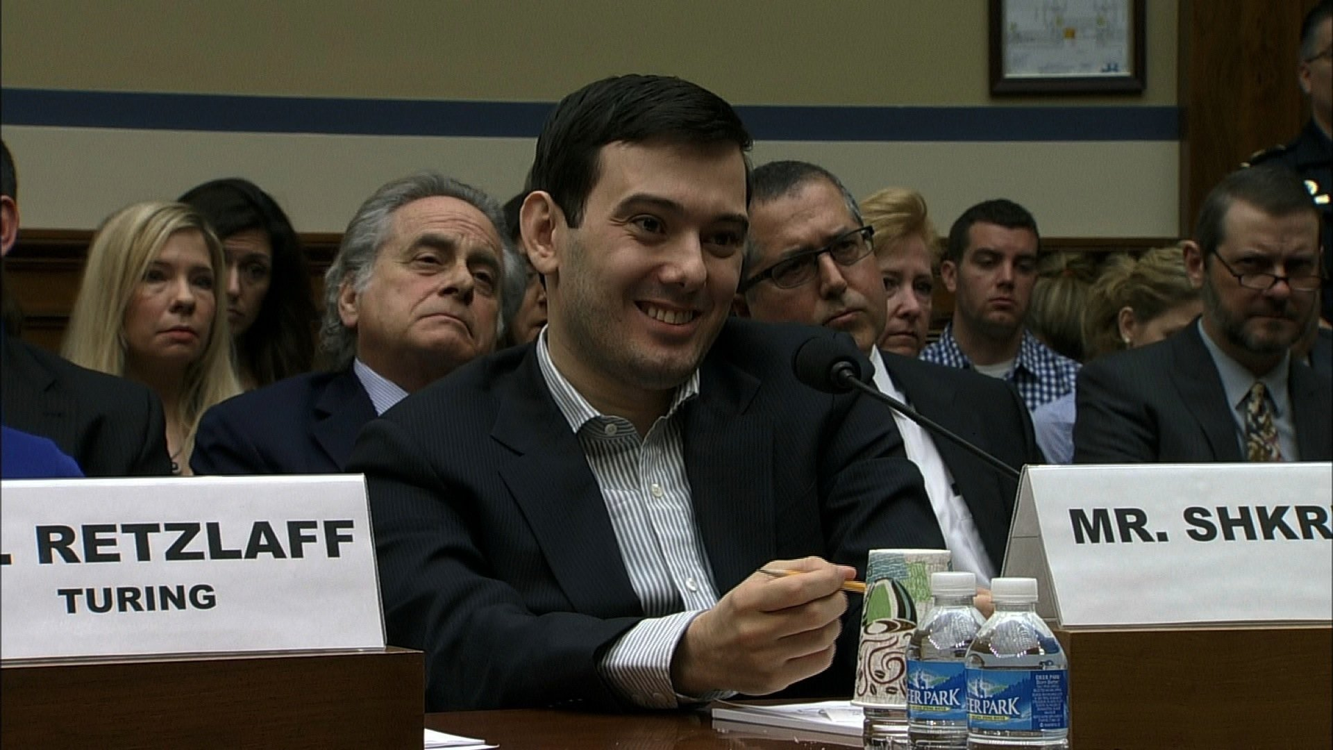 Judge Revokes Martin Shkreli's Bail, Putting Him In Jail For Months