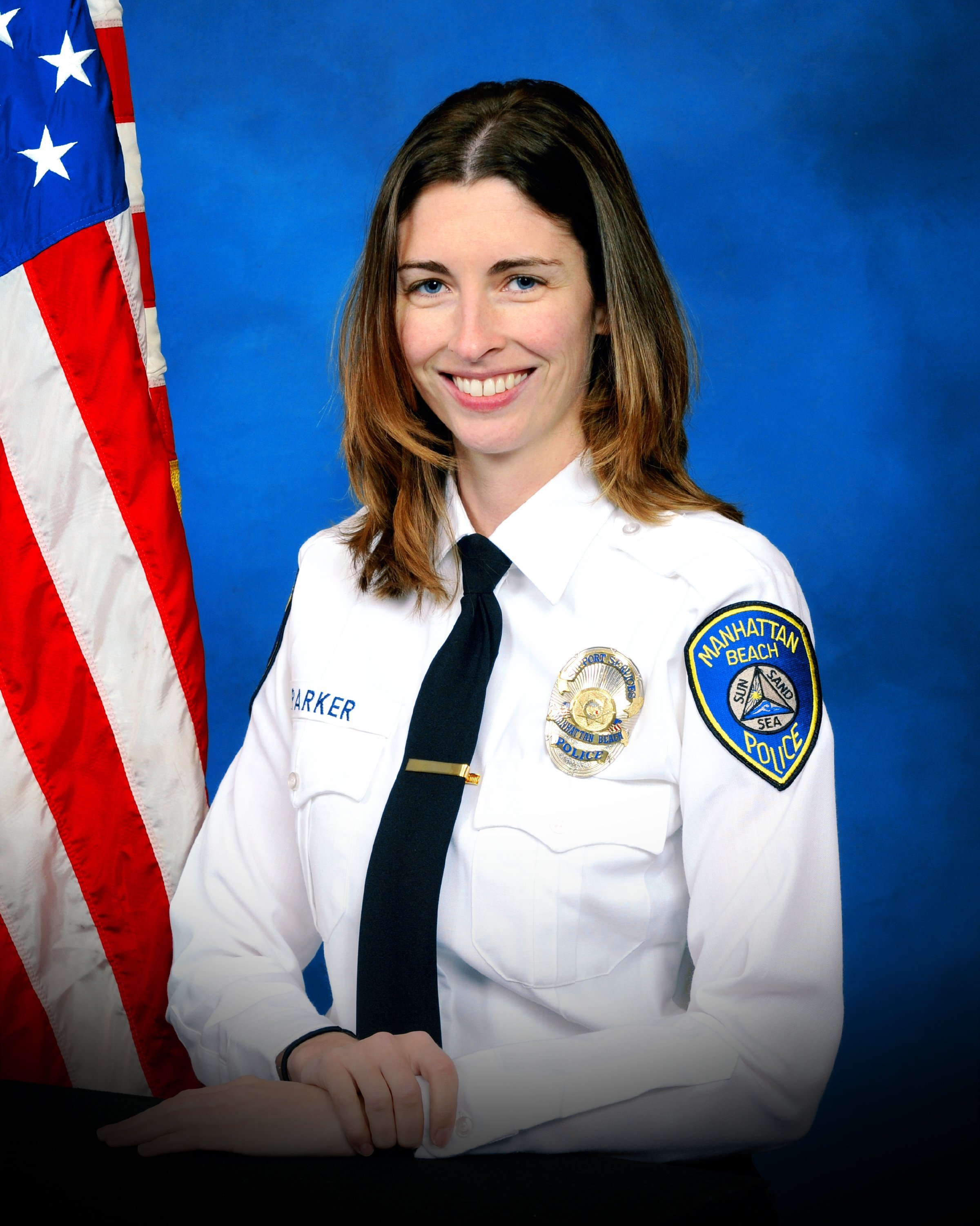 This is a photo of Manhattan Beach Police employee Rachael Parker. Parker was shot and killed in the mass shooting at a country music concert in Las Vegas.