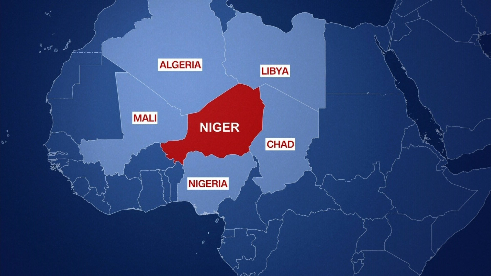Three US soldiers killed in ambush in Niger