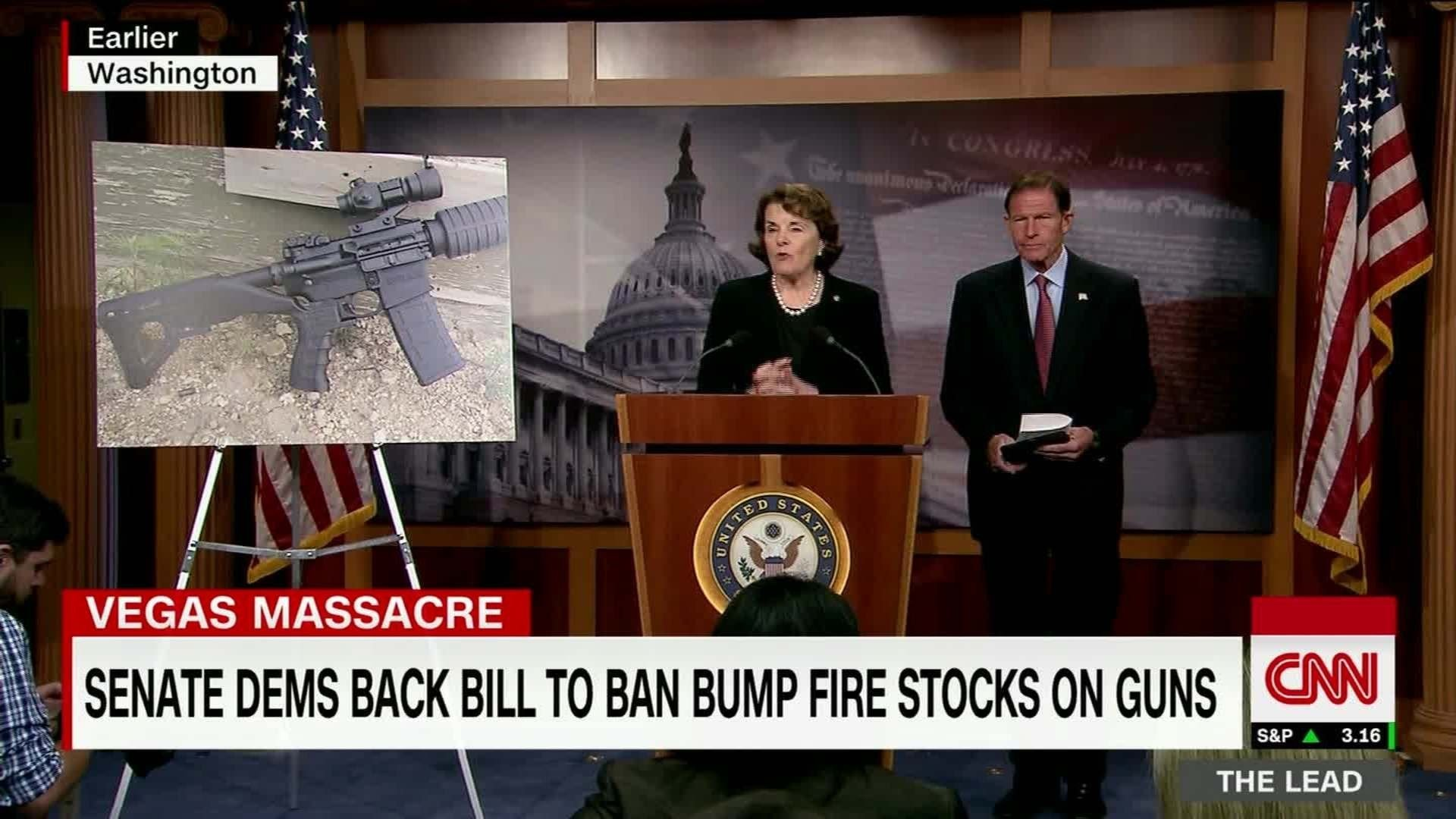 Sen. Dianne Feinstein introducing bill to ban bump fire stocks