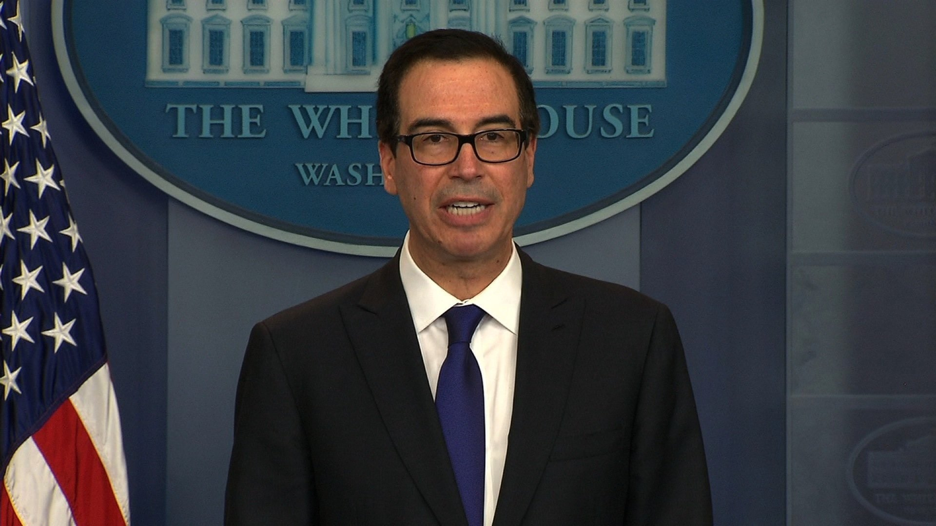 Taxpayers spent more than $800000 on Treasury Sec. Mnuchin's military flights