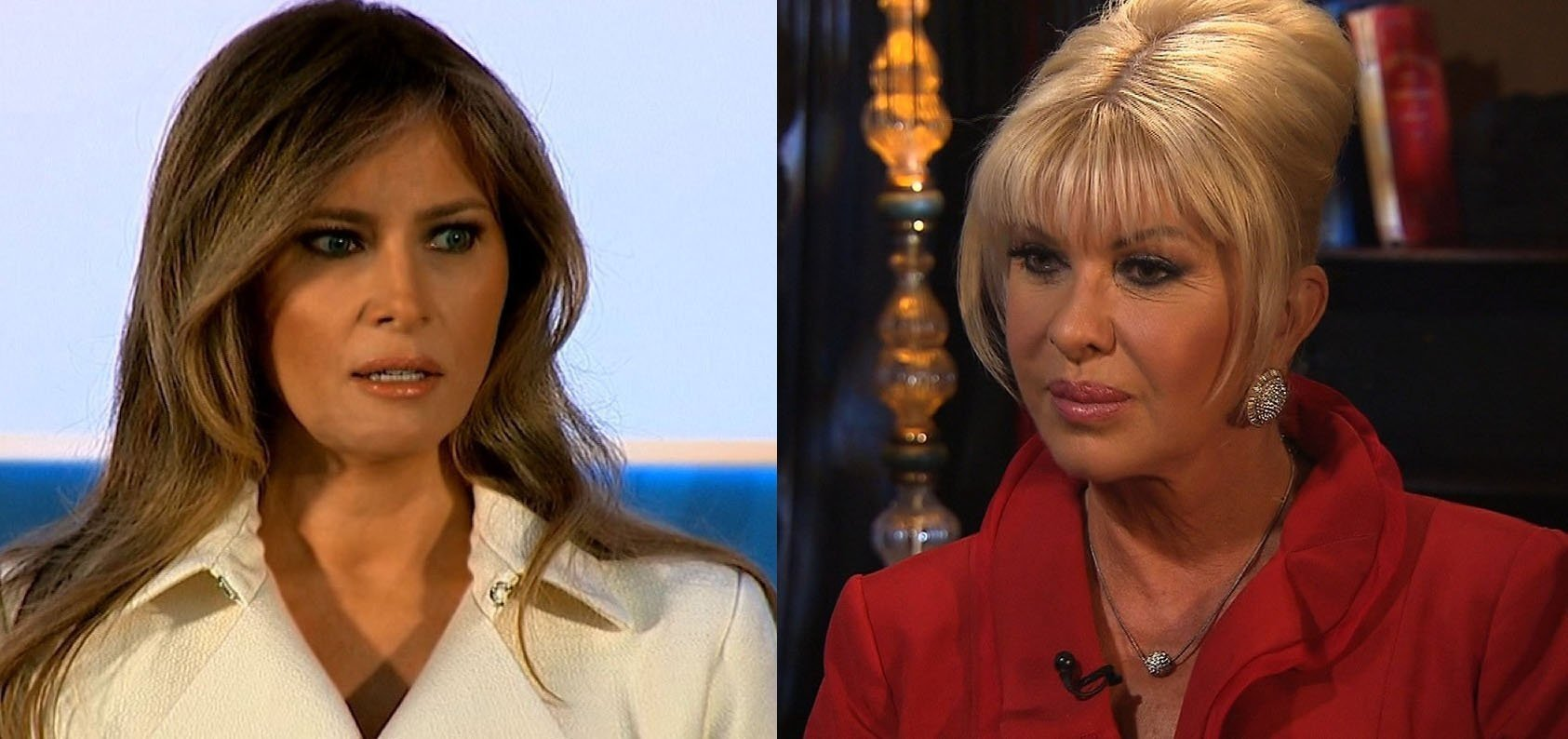 "President Donald Trump's first wife, Ivana Trump, called herself ""first lady"" in an interview ahead of the release of her memoir, ""Raising Trump."" Now his current wife, first lady Melania Trump, is firing back, slamming her comments as..."