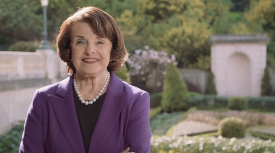 California's Dianne Feinstein, the oldest U.S. senator, announces reelection bid
