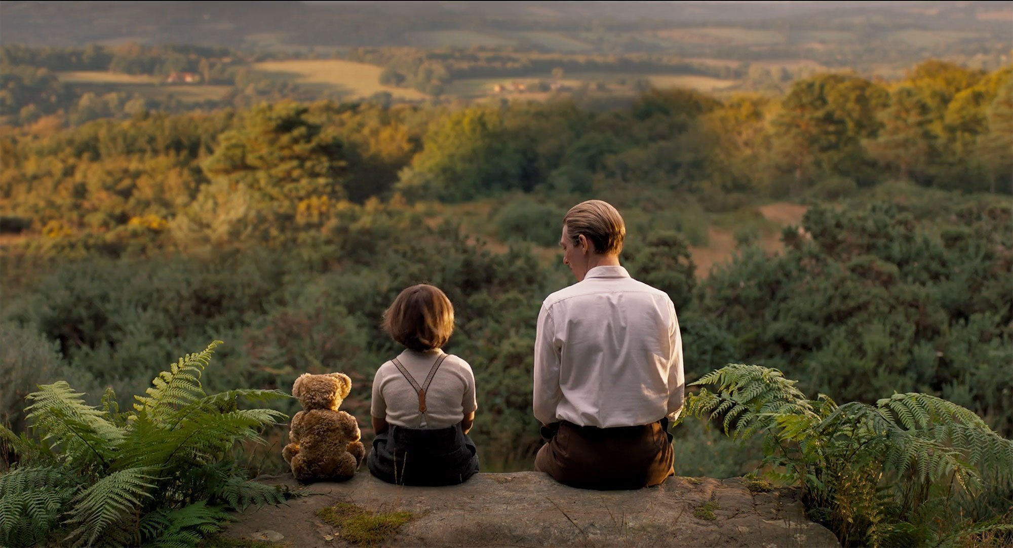 """Wonder Woman and Winnie the Pooh, and both are extremely good. Forced into a choice, give the little bear and """"Goodbye Christopher Robin"""" the edge over """"Professor Marston & the Wonder Women."""""""