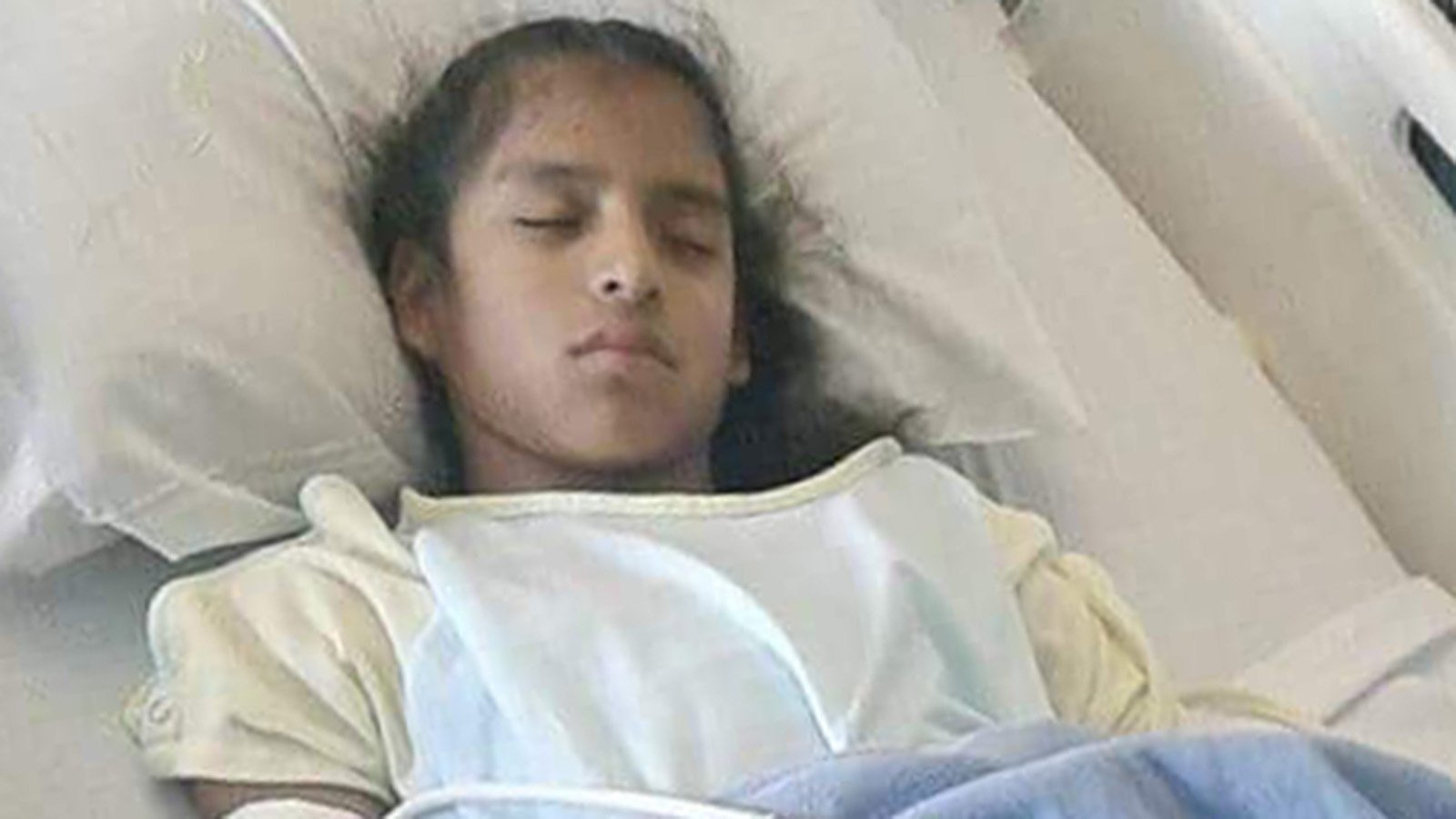 Undocumented special-needs girl faces deportation after emergency surgery