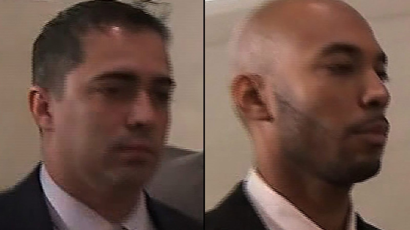 **Embargo: New York, NY**  Police detectives Eddie Martins, left, and Richard Hall have pleaded not guilty to the charges.