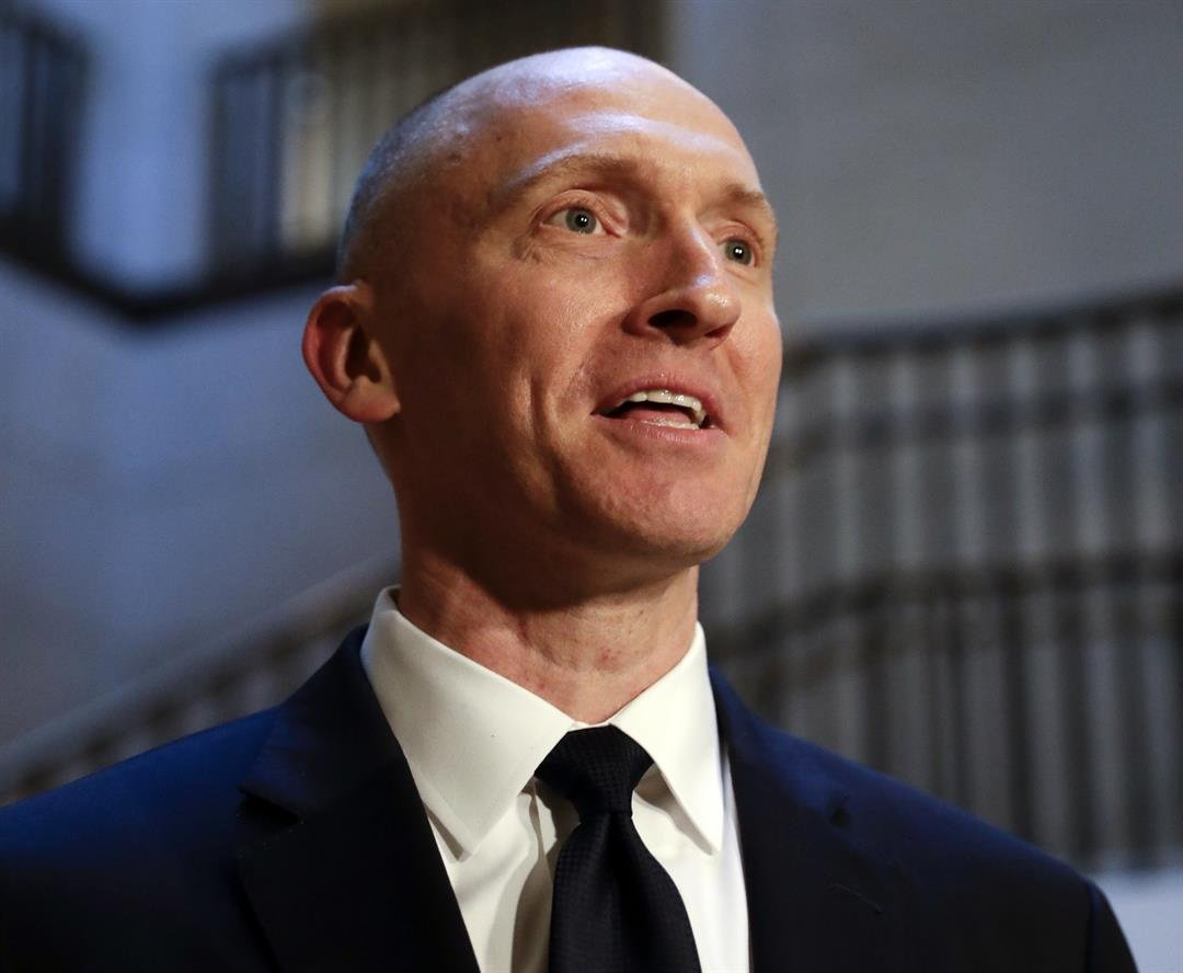 **This image is for use with this specific article only.**  Former Trump foreign policy adviser Carter Page told the House intelligence committee last week that he floated the idea of then-candidate Donald Trump taking a trip to Russia in May 2016,...