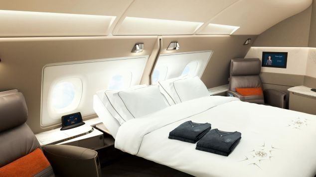 Singapore Airlines focuses on long-haul flights.