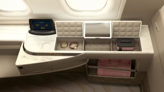 Singapore Airlines says it wants its Suites to enhance the privacy of fliers.