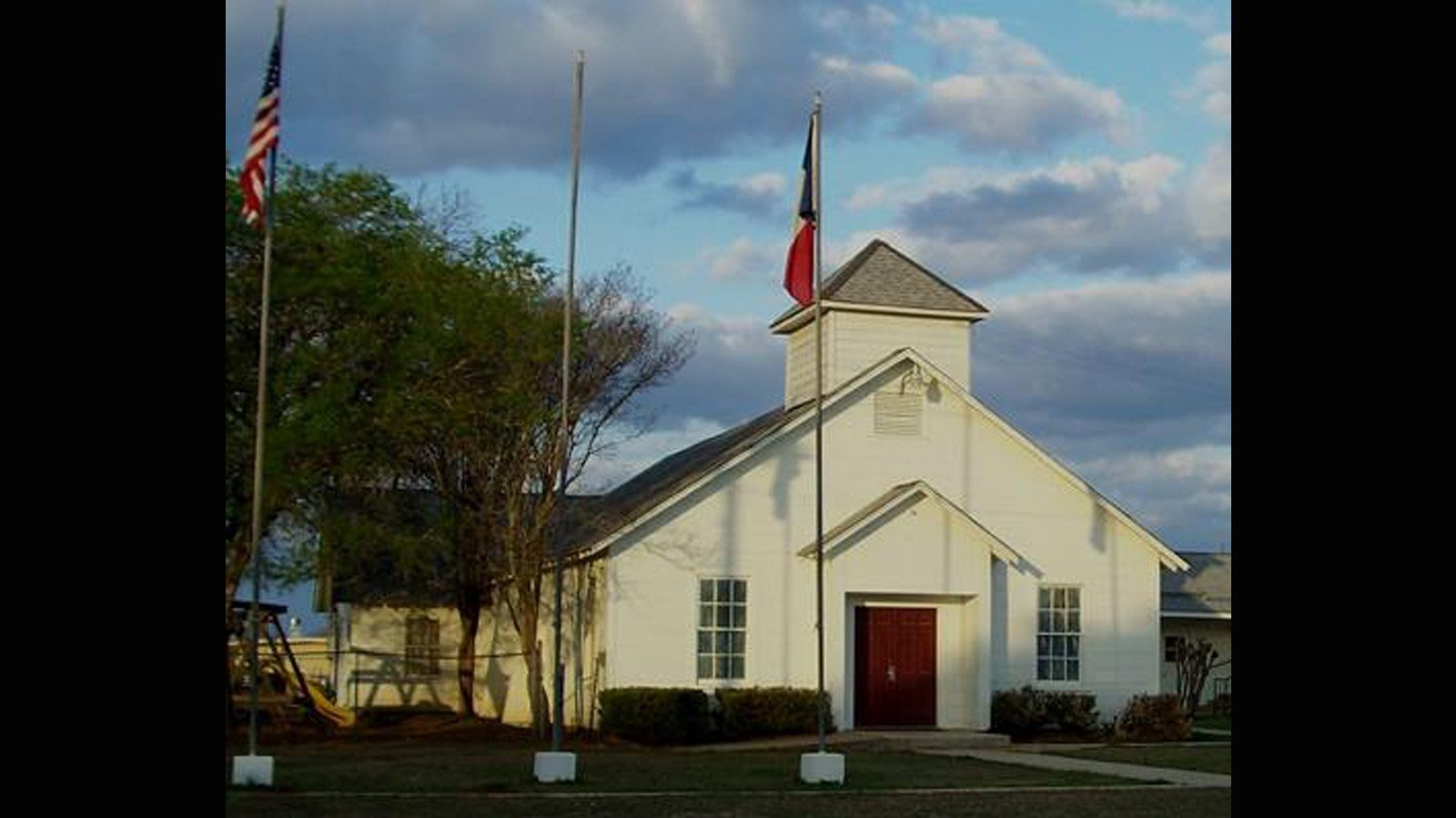 Multiple people have been killed and many more injured in a shooting Sunday at First Baptist Church of Sutherland Springs, Texas, authorities said.  Credit: First Baptist Church of Sutherland Springs, Texas