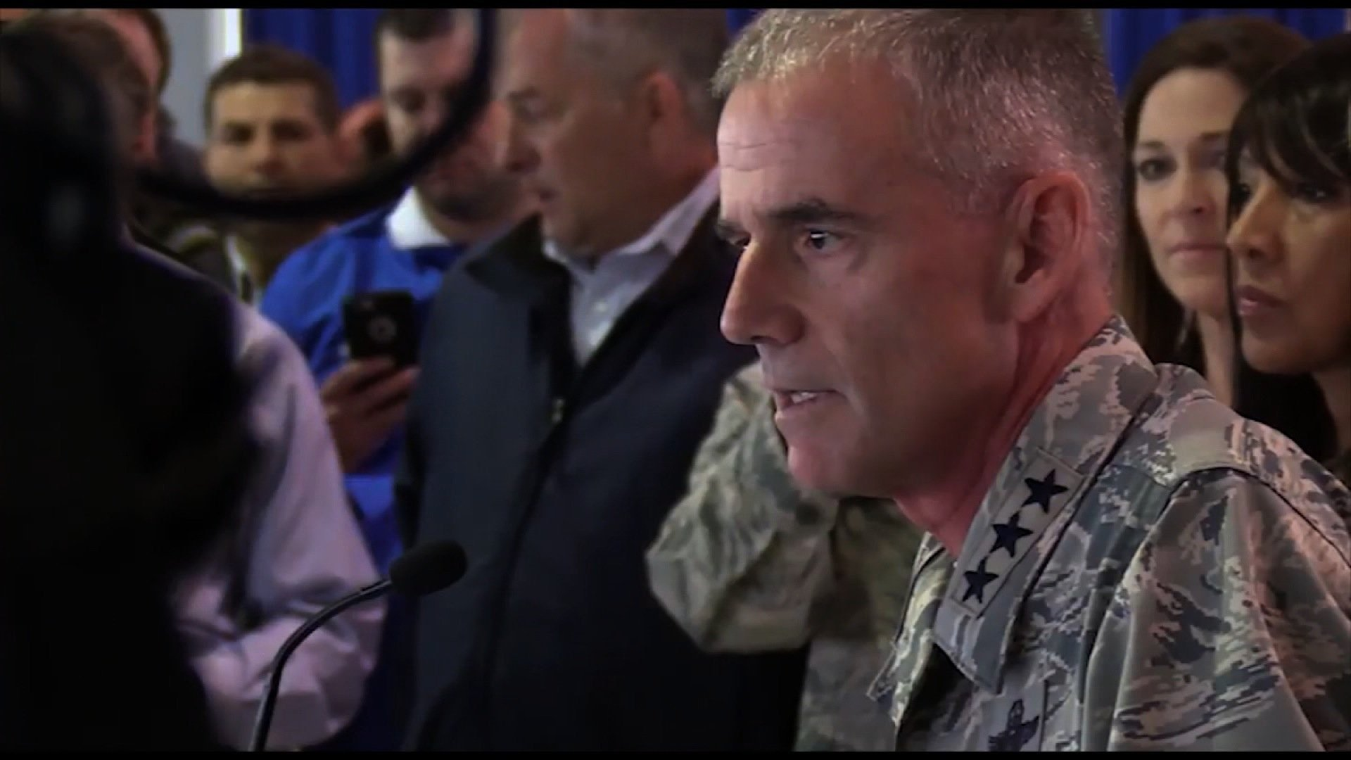 Lt. Gen.Jay Silveria expressed outrage after racist slurs were found at the academy prep school. On Tuesday, Air Force Academy officials said that one of the black cadet candidates actually wrote the racist messages.