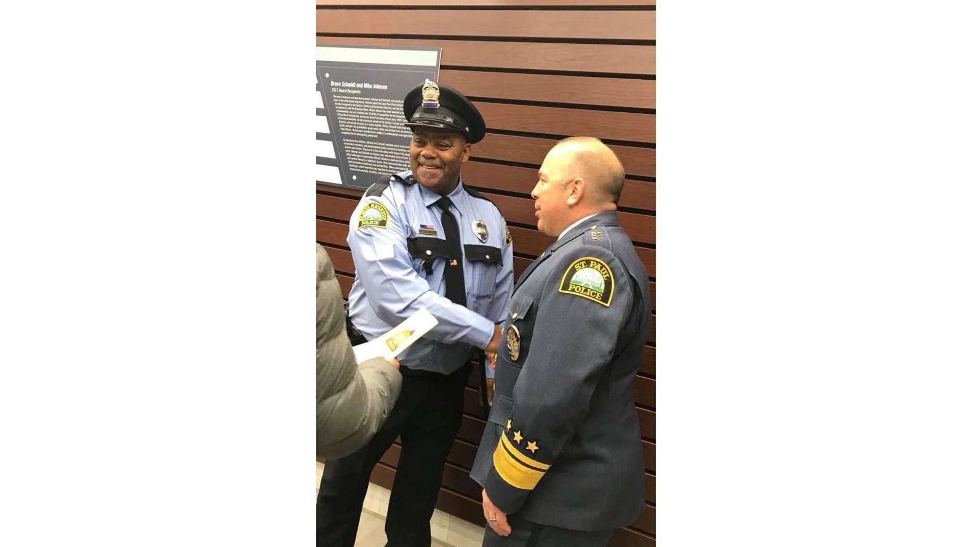 Clarence Castile, the uncle of Philando Castile, is now an officer with the St. Paul Police Reserve Unit.
