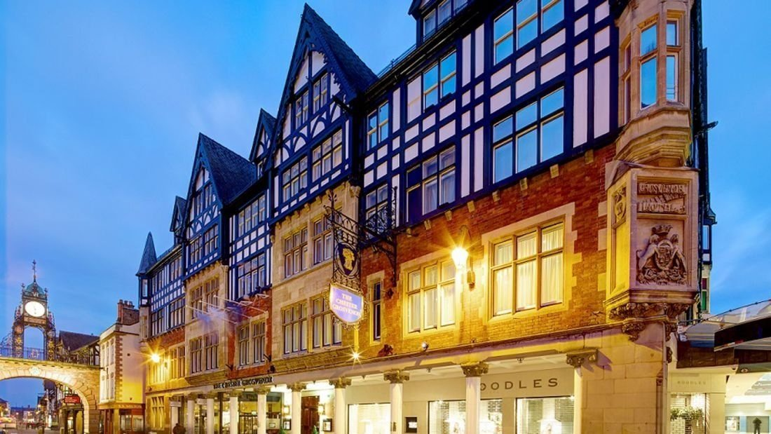 The Chester Grosvenor, UK: Housed in a fine example of the Tudor architecture for which the English city of Chester is renowned, the Chester Grosvenor was established in 1865.