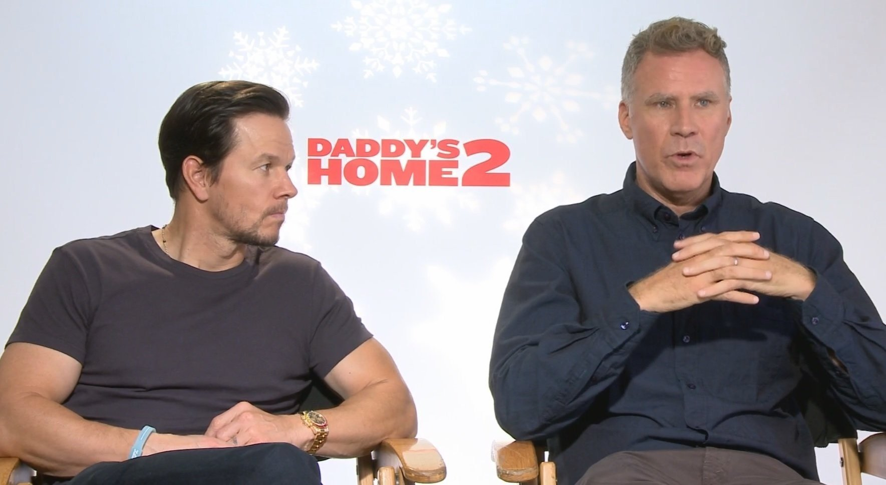 """Faced with the task of concocting a sequel around the wispiest of comedies, """"Daddy's Home 2"""" doubles down on daddies."""