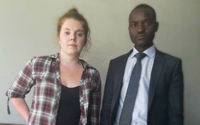 "An American woman, Martha O""Donovan, facing charges in Zimbabwe of subversion and undermining President Robert Mugabe's authority was released Friday on $1,000 bail, according to the legal group representing her."