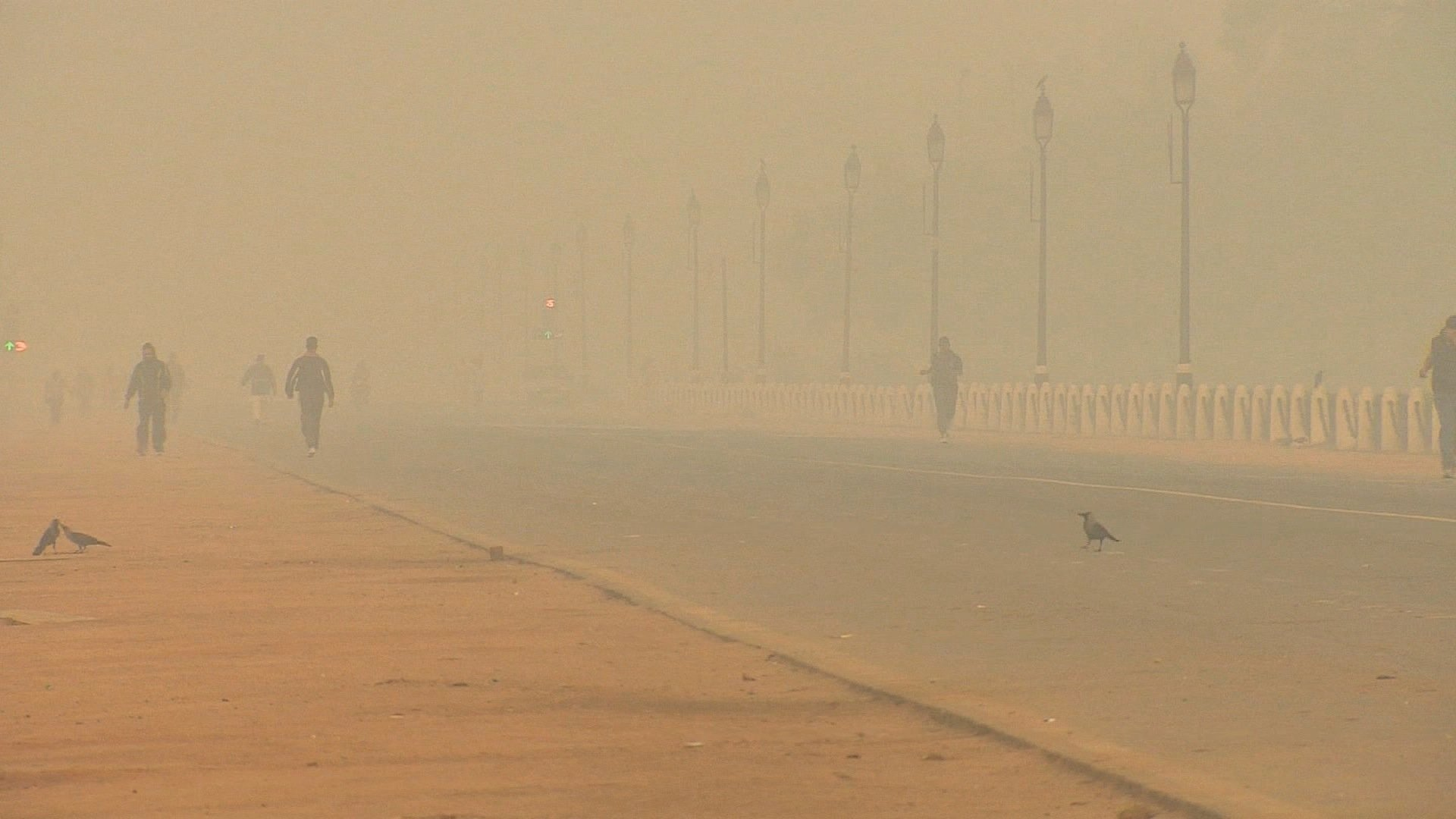 Breathing in Delhi air equivalent to smoking 44 cigarettes a day.