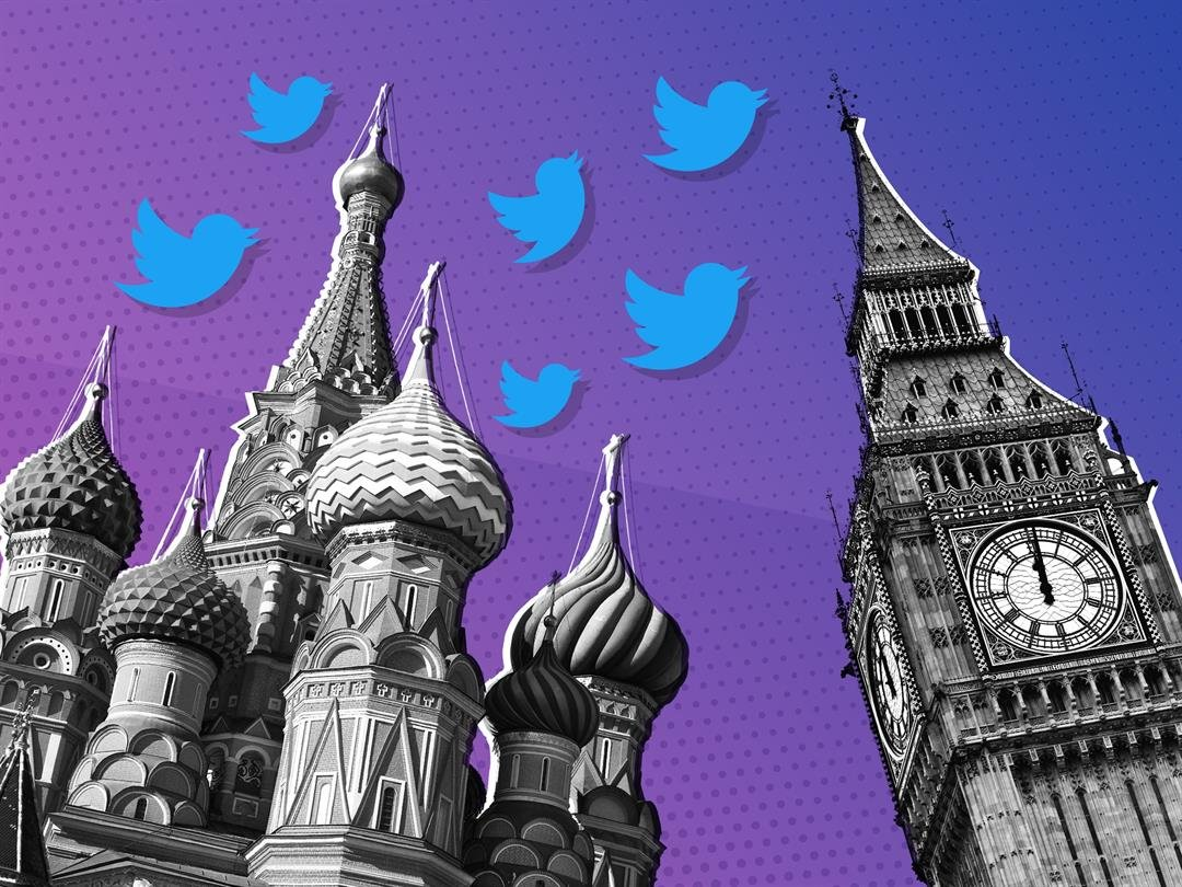 **This image is for use with this specific article only.**  A network of Twitter accounts with ties to the Russian government-linked troll army that meddled in U.S. politics posted dozens of pro-Brexit messages on the day of the referendum on the...