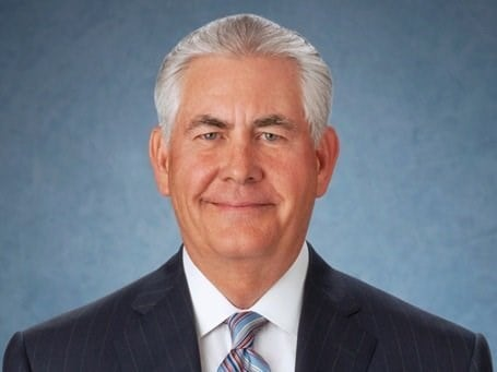 Rex Tillerson is the Secretary of State under the Trump administration. Tillerson is the former CEO of ExxonMobil.