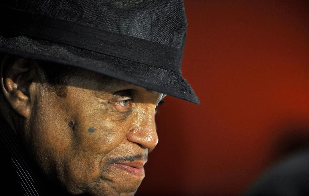 **This image is for use with this specific article only**  The Jackson family patriarch's well wishes for one of his grandsons has left fans scratching their heads.