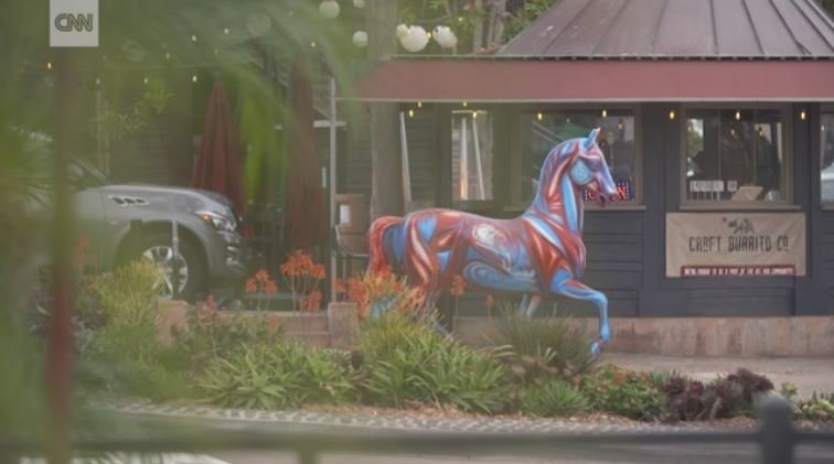 If you visited San Diego County recently, there's a good chance you stumbled across some spectacular life-size horse statues.