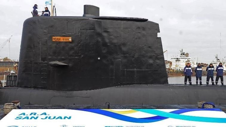 The argentine submarine disappeared, had reported damage