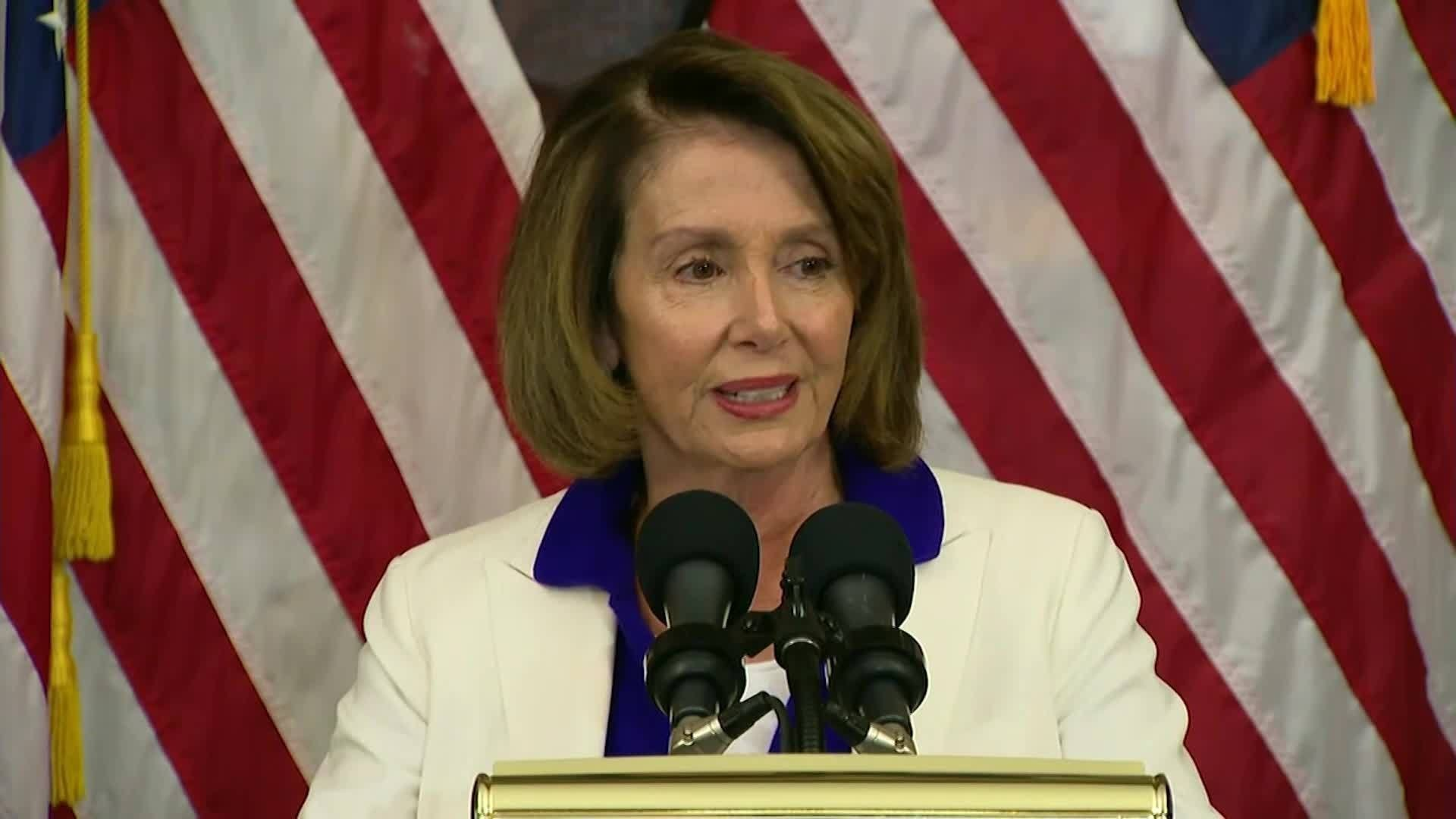 Pelosi: Conyers deserves 'due process' on misconduct charges