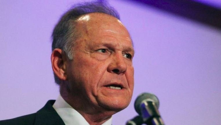 President Trump won't campaign for Moore before election
