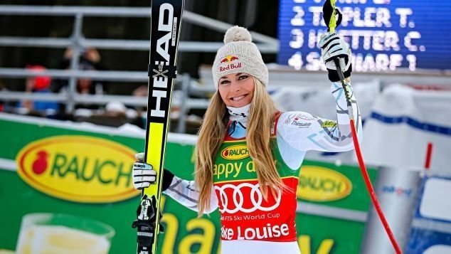 **This image is for use with this specific article only**  Lindsey Vonn is the most decorated American skier in history.  CREDIT: Alain Grosclaude/Agence Zoom/Getty Images Europe/Getty Images