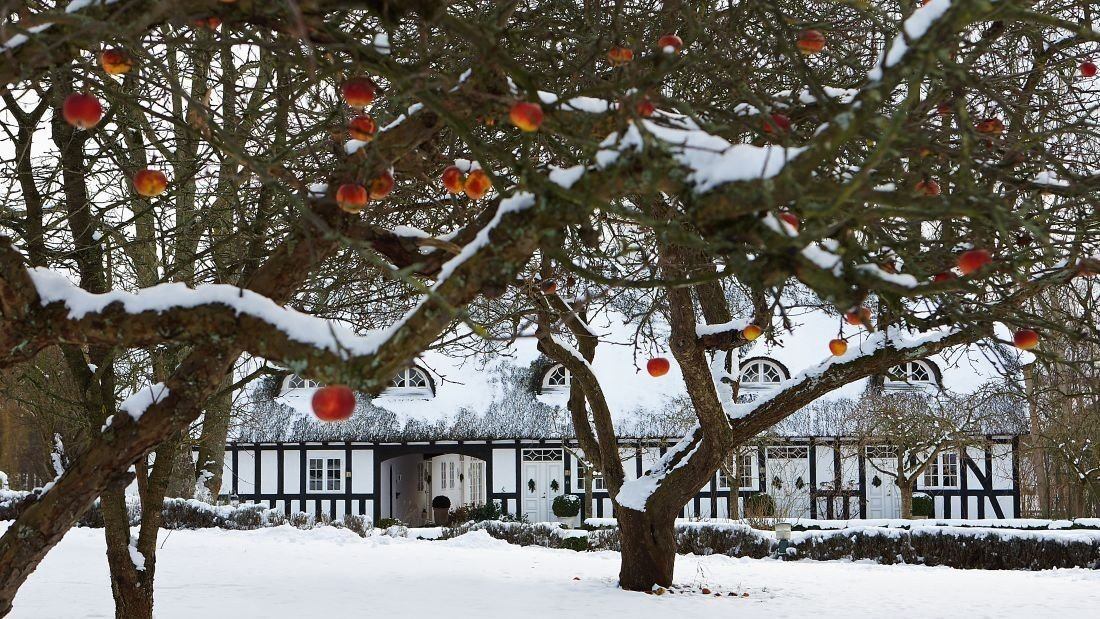 Enjoy the Danish concept of hygge at this cozy hotel on Danish island of Fyn, where Hans Christian Andersen was born.
