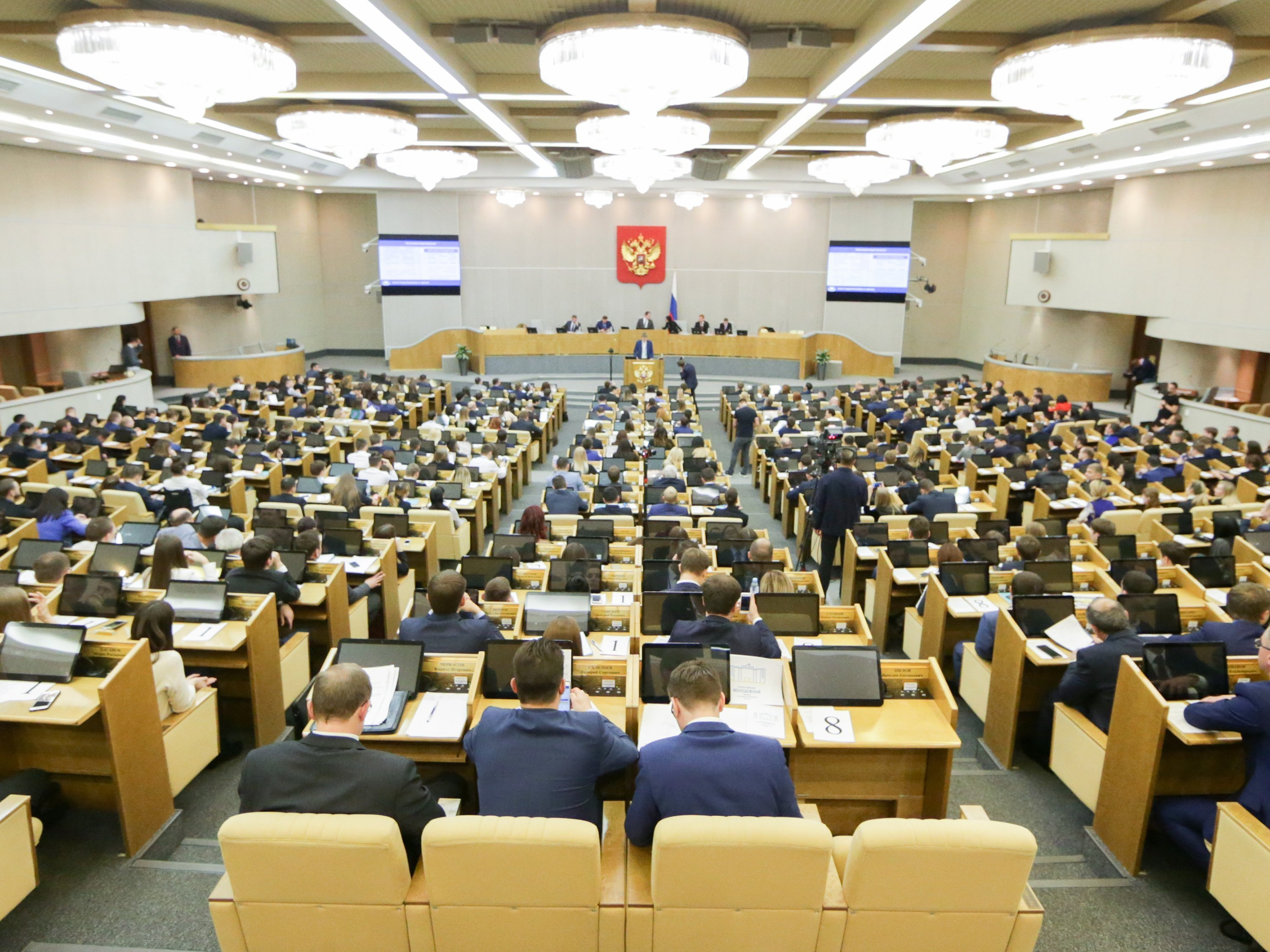 Russian Duma Considers Banning US Media Representatives