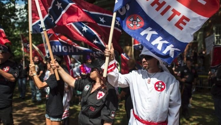 "**This image is for use with this specific article only.**  The August 12 ""Unite the Right"" rally was a gathering of white nationalists and other far-right groups that culminated in the death of Heather Heyer when a man drove a car through a crowd of..."