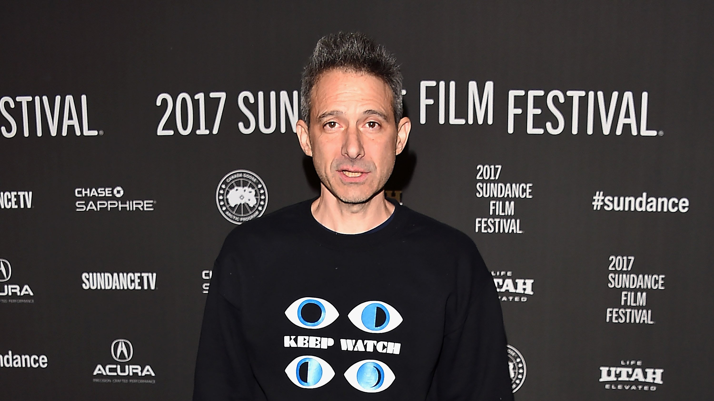 **This image is for use with this specific article only.**  Beastie Boys' Adam Horovitz is seen ehre at the 2017 Sundace Film Festival.