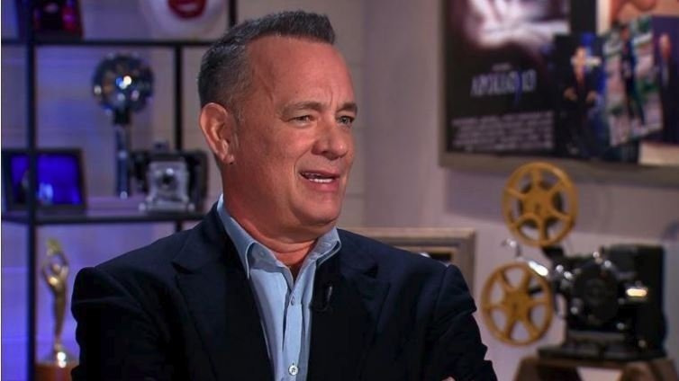 Actor Tom Hanks speaks to CNN about sexual harassment in Hollywood.
