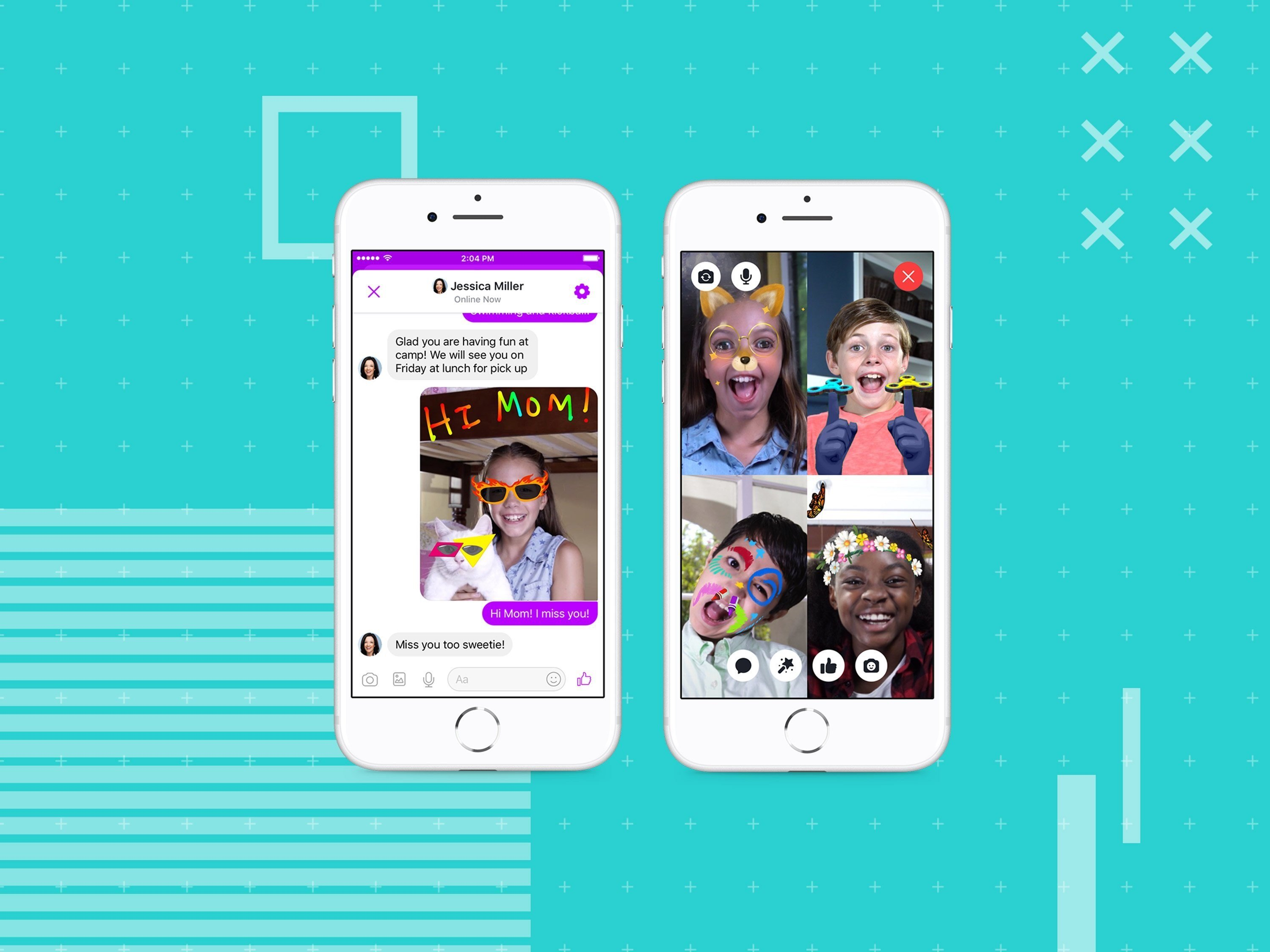 Facebook unveils Messenger app for kids