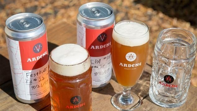 A picture of Ardent Craft Ales in Richmond, Virginia.