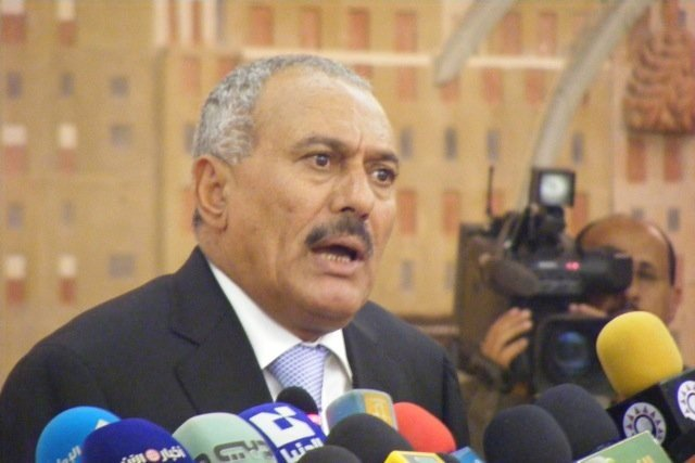 File Ali Abdullah Saleh who was President of Yemen for decades and once compared governing the country to